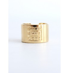 "MYA BAY BAGUE ""DREAM SMILE LOVE"" (relief)  DORE"