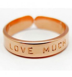 "MYA BAY BAGUE ""LOVE MUCH"" ROSE"