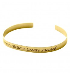 VERY SISTERS BRACELET JONC DREAM BELIEVE SUCCEED