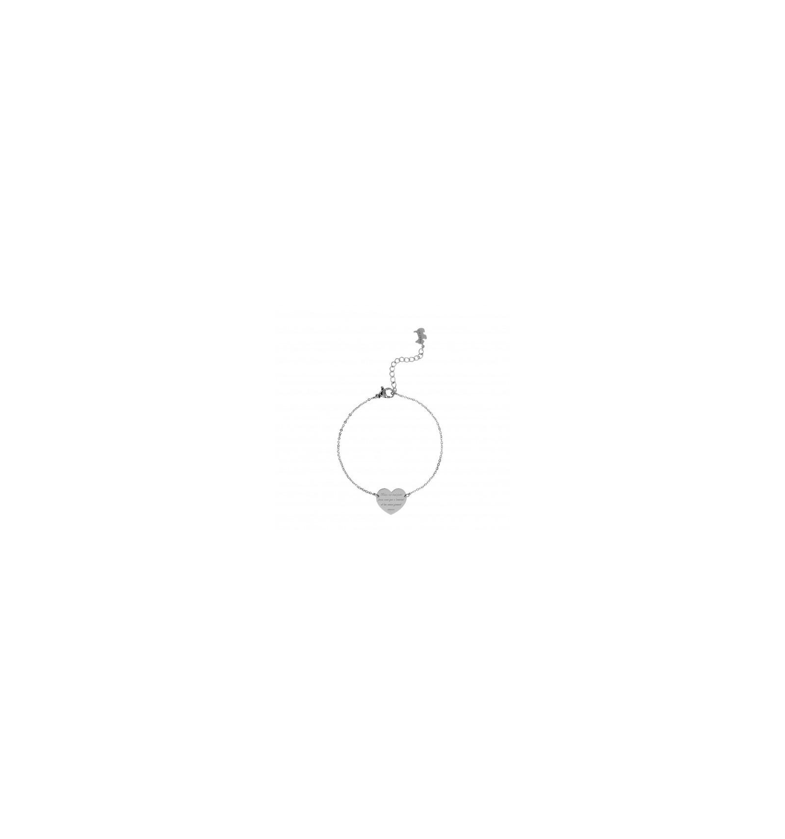 Bracelet coeur agatha