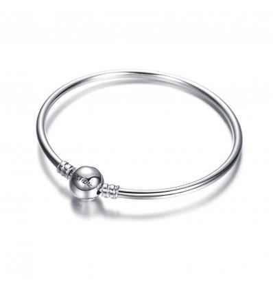 SOUFEEL Charm Bracelet jonc argent 925 21cm