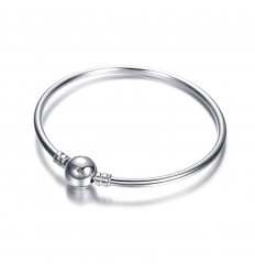 SOUFEEL Charm Bracelet jonc argent 925 17cm