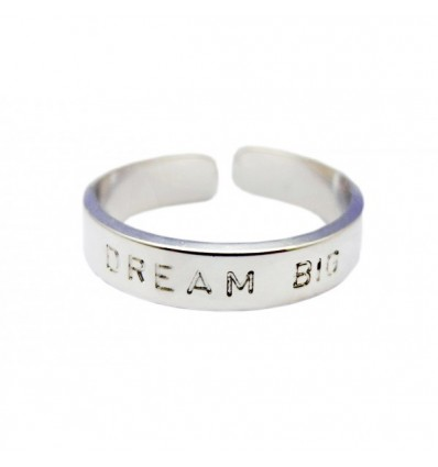 "MYA BAY BAGUE ""DREAM BIG"" ARGENTE"