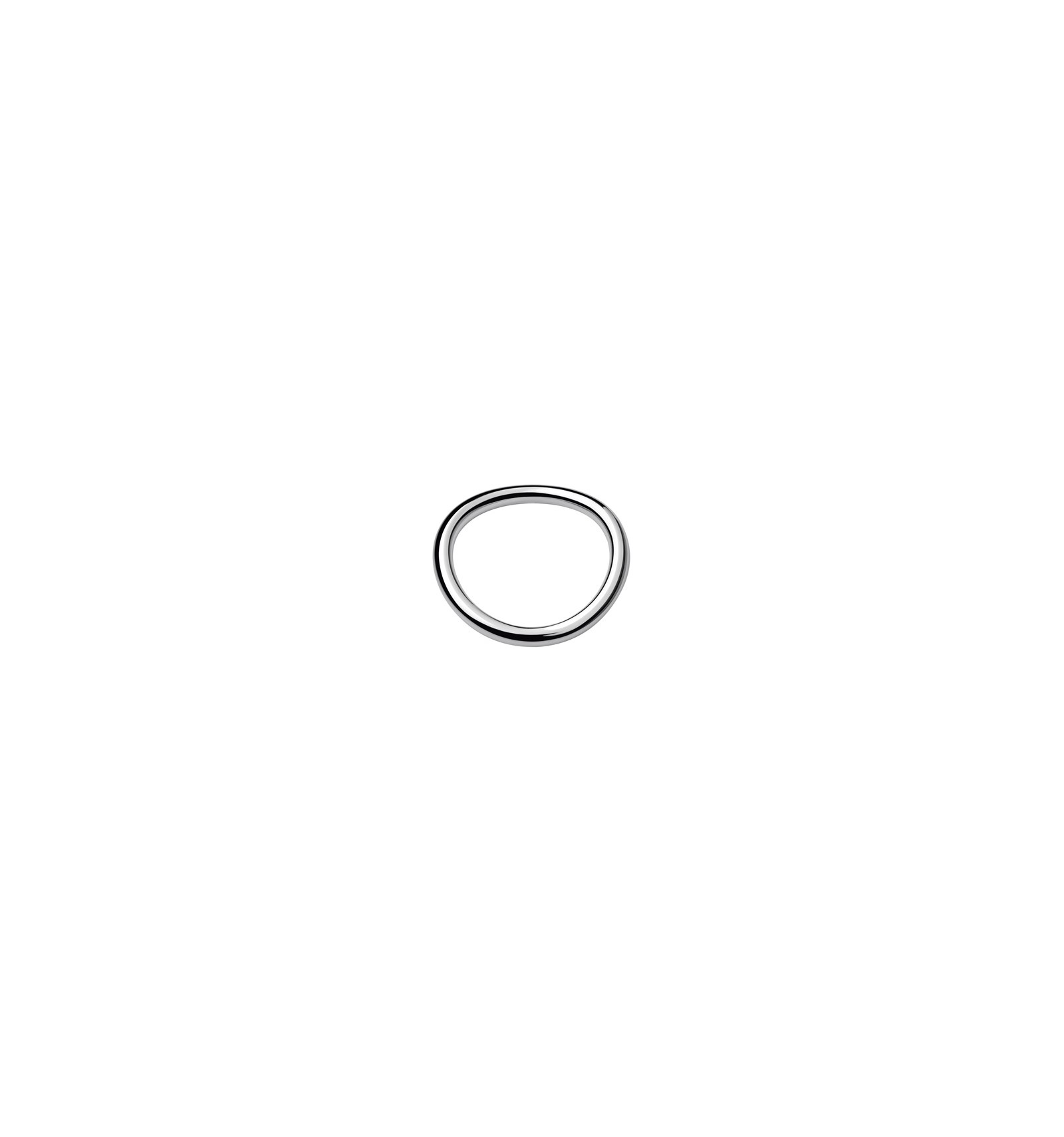 christofle collection 925 bague jonc anneau argent t51 argent massif 925 my way. Black Bedroom Furniture Sets. Home Design Ideas