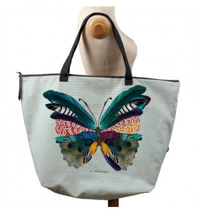 BONJOUR MON COUSSIN Sac week-end Papillon