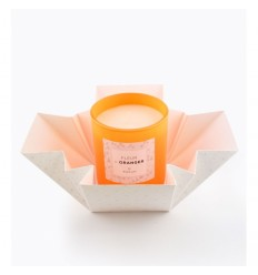 POPUP BOUGIE POP EDITION WHITE DIAMOND 150G 35H - FLEUR D ORANGER