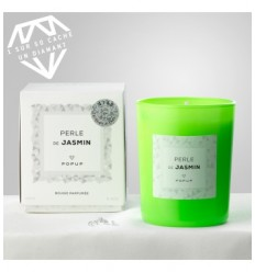 POPUP BOUGIE POP EDITION WHITE DIAMOND 150G 35H - PERLE DE JASMIN
