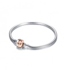 SOUFEEL Rose Gold Exclusive 925 Sterling Silver Basic Bracelet