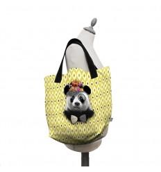 LAISSEZ LUCIE FAIRE - Big Tote Bag Bernard - 50x41x20cm polyester/coton