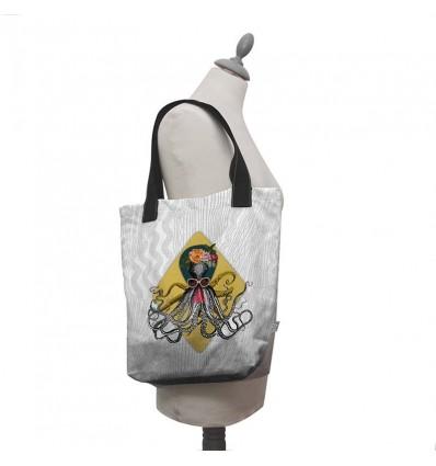 LAISSEZ LUCIE FAIRE - Tote Bag Petrus - 35x41x9cm polyester/coton