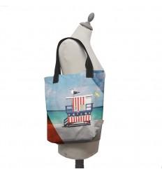 LAISSEZ LUCIE FAIRE - Tote Bag Beach - 35x41x9cm polyester/coton