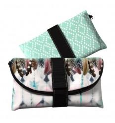 LAISSEZ LUCIE FAIRE - Pochette de Soirée Koaqueen - 22x14cm polyester/coton