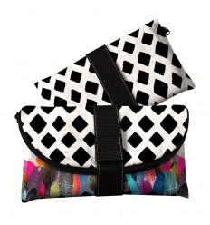 LAISSEZ LUCIE FAIRE - Pochette de Soirée Kisscoon - 22x14cm polyester/coton