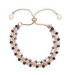 'Melina' Three Strand Bracelet
