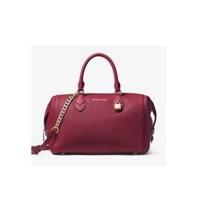 MICHAEL KORS Grayson Leather Satchel