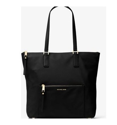 MICHAEL KORS Ariana Large Nylon and Leather Tote