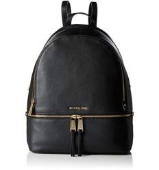 MICHAEL KORS Rhea leather Backpack black