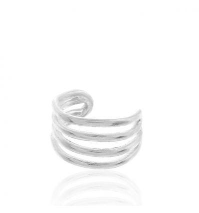 AGATHA BO faux piercing 4 anneaux