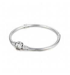 SOUFEEL Silver Basic Charms Bracelet 23cm