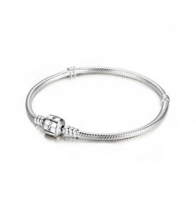 Silver Basic Charms Bracelet