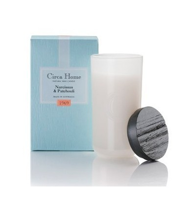 BOUGIE CIRCA HOME 165G 1969 NARCISSUS PATCHOULI