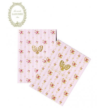 Notebook B6 LADUREE // Pompadour - Pink