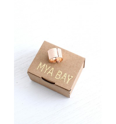 "MYA BAY BAGUE ""DREAM SMILE LOVE"" (grav_) ROSE"